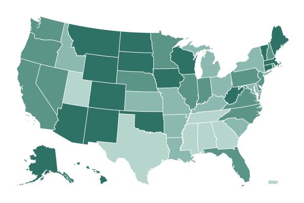 Lorsque les États signalent des vaccins administrés
