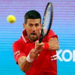 Tennis: à Rome, Djokovic l'oeil rivé sur Roland-Garros